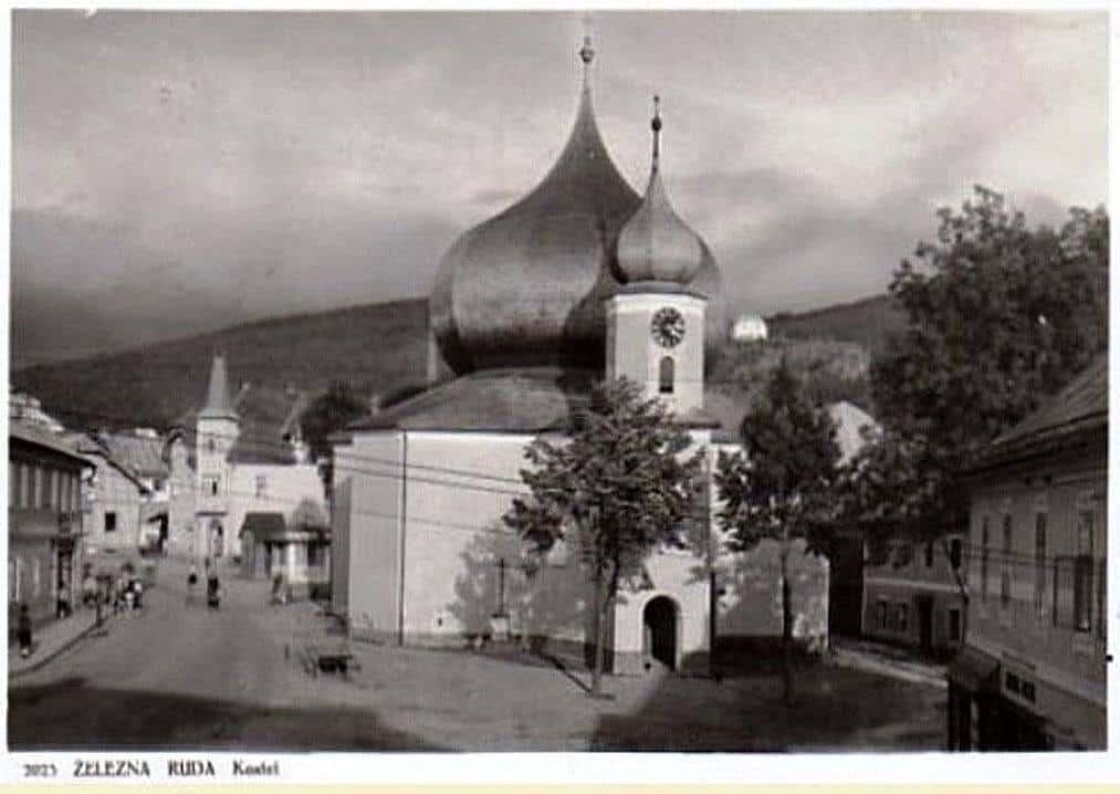 Kostel-v-Železné-Rudě